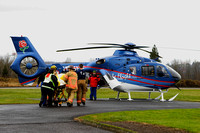 12-18-10 Life Flight LZ....Troutdale