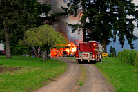 5-31-11 Barn Fire....SE Lusted Rd.